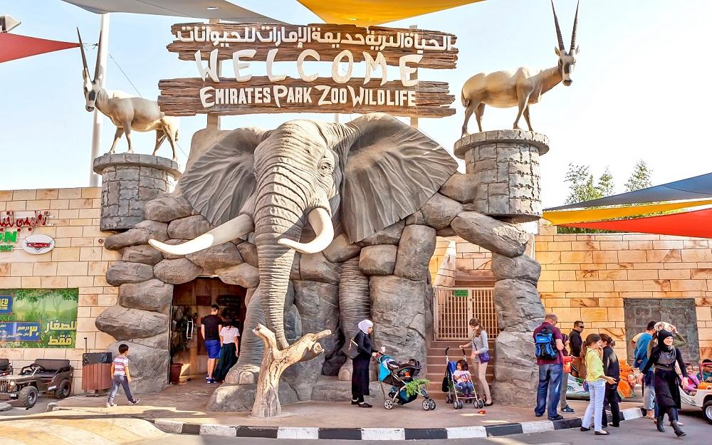أماكن لا تفوت زيارتها في أبو ظبي حديقة حيوانات الامارات