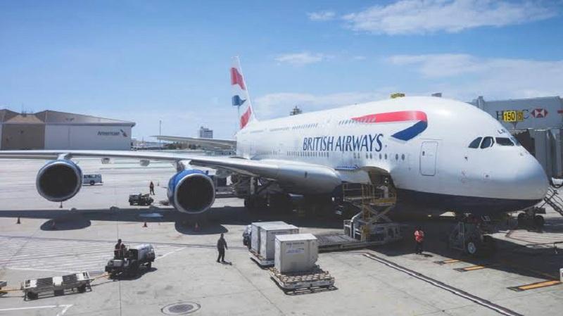 استئناف رحلات الخطوط الجوية البريطانية