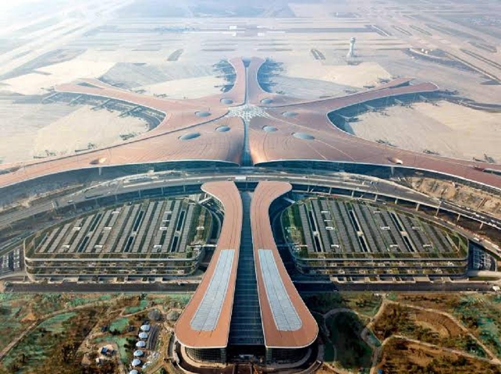 بتكلفه 9 مليارات الصين تفتتح أكبر مطار جوي في العالم