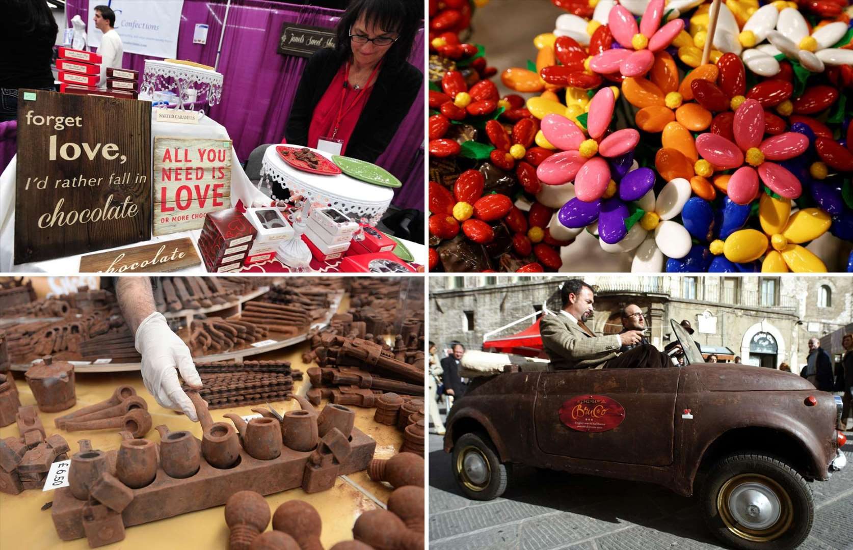 مهرجان سياحي للشوكولاتة في أوروبا