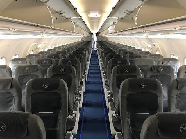 حجب المقاعد الاقتصادية في الجزء الخلفي من طائرة A320neo