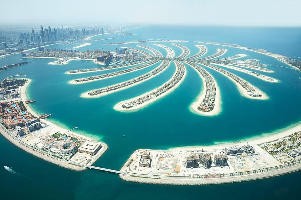 سبع أنشطة وأماكن لا تفوت زيارتها في دبي نخلة جميرا