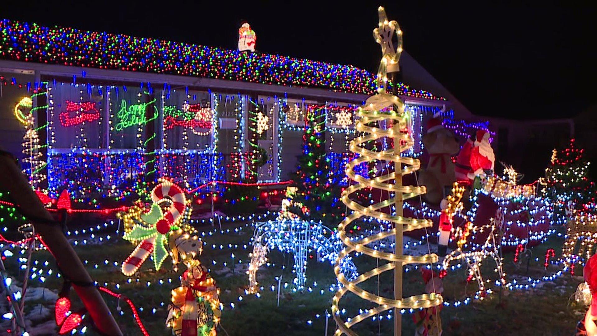 أضواء عيد الميلاد المذهلة