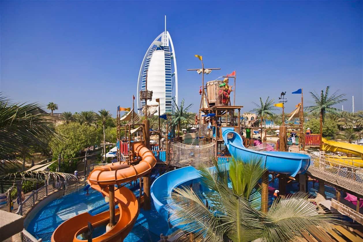 استمتع في حديقة وايلد وادي المائية دبي