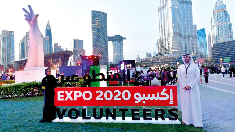 بدء العد التنازلي لافتتاح معرض اكسبو 2020