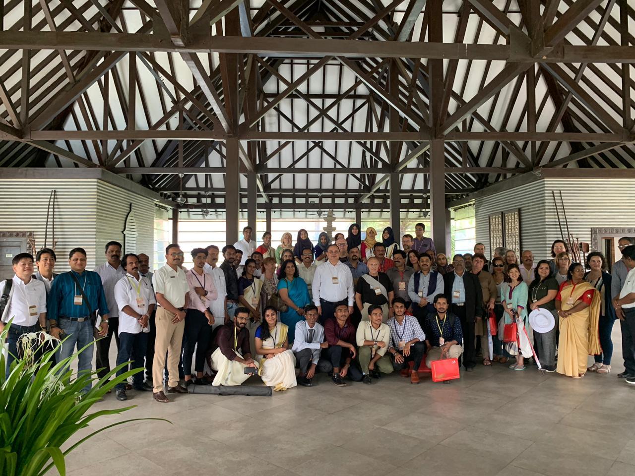 جولة سفراء الأيورفيدا الدولية لتشجيع انطلاق الأيورفيدا التقليدي في ولاية كيرالا