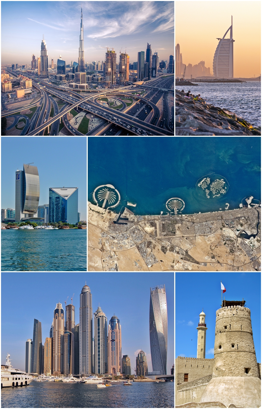 سبع أسباب تجعل دبي الوجهة السياحية الأفضل