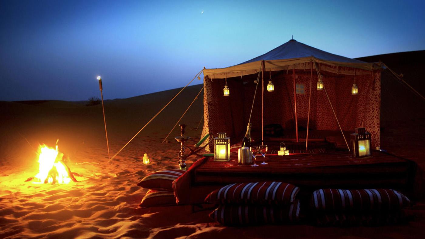 سفاري الصحراء مع عشاء باربكيو