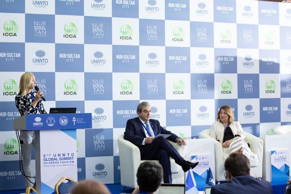قادة يتبون إعلان نور سلطان في قمة السياحة الحضرية في كازاخستان