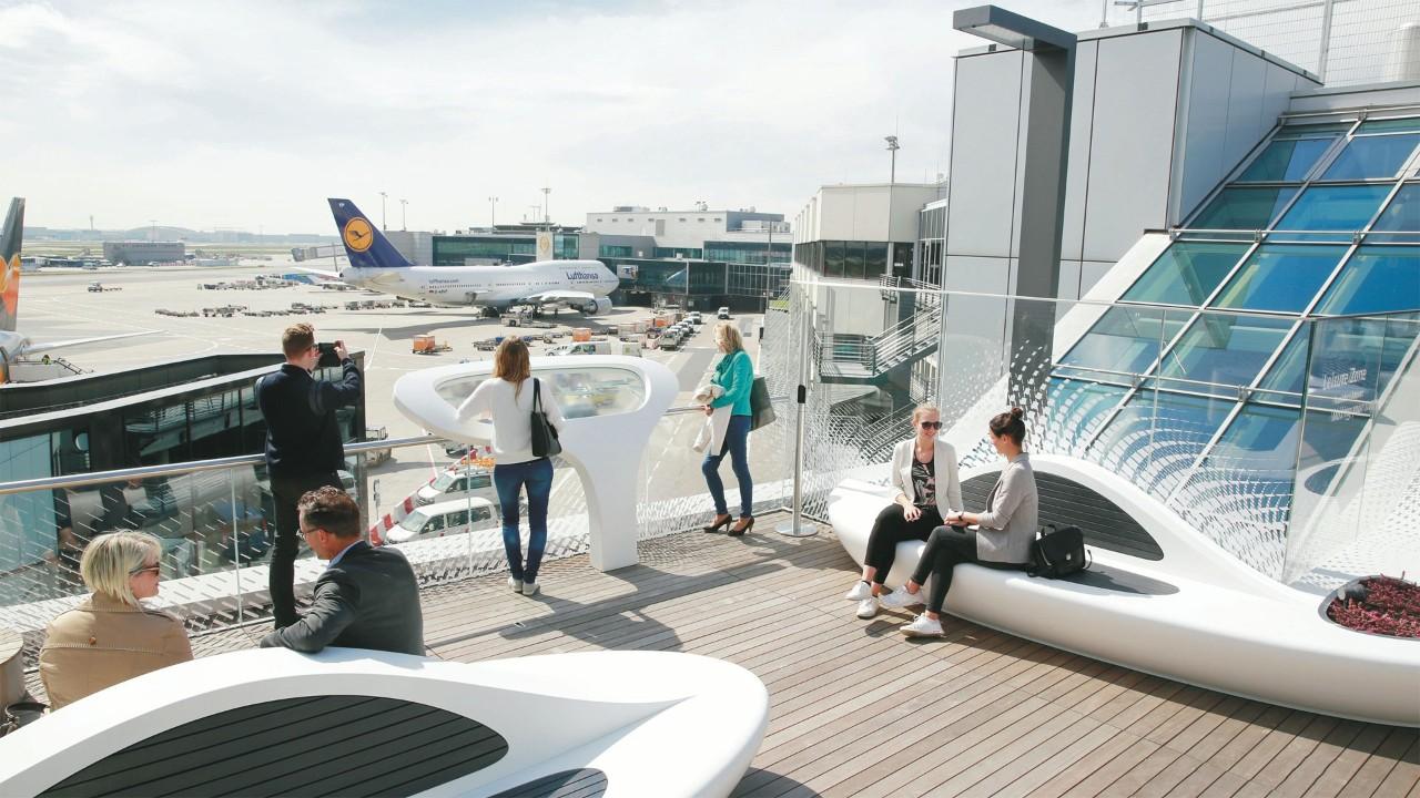مطار فرانكفورت يعلن عن نمو ثابت خلال تسعة شهورمن عام 2019