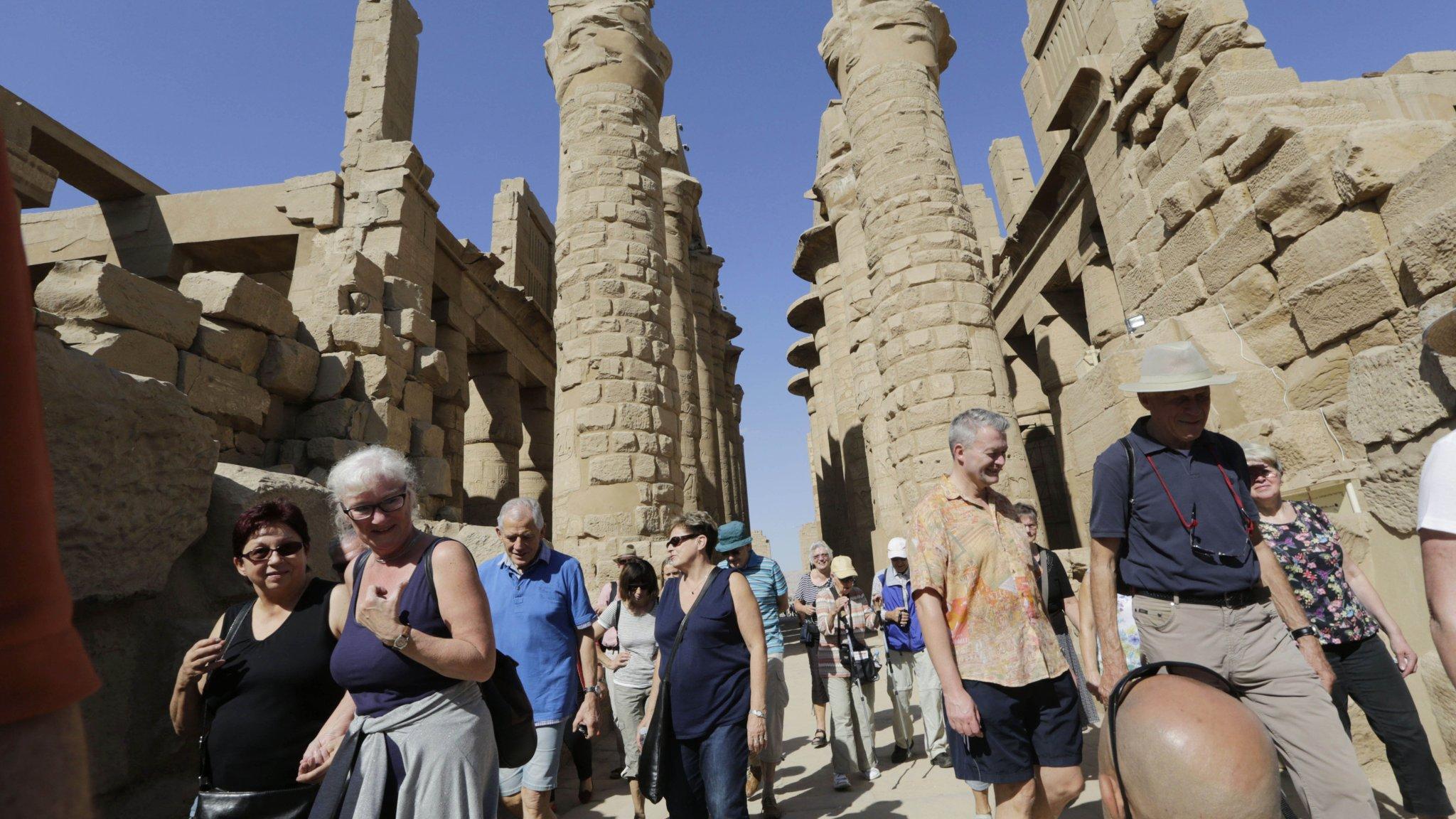 ارتفاع ملحوظ في عائدات السياحة المصرية