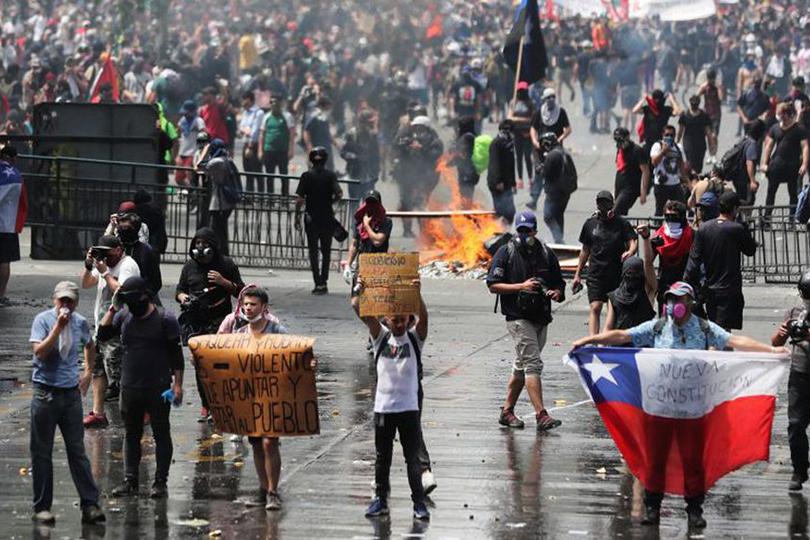 انخفاض إشغال الفنادق في شيلي نتيجة الاحتجاجات