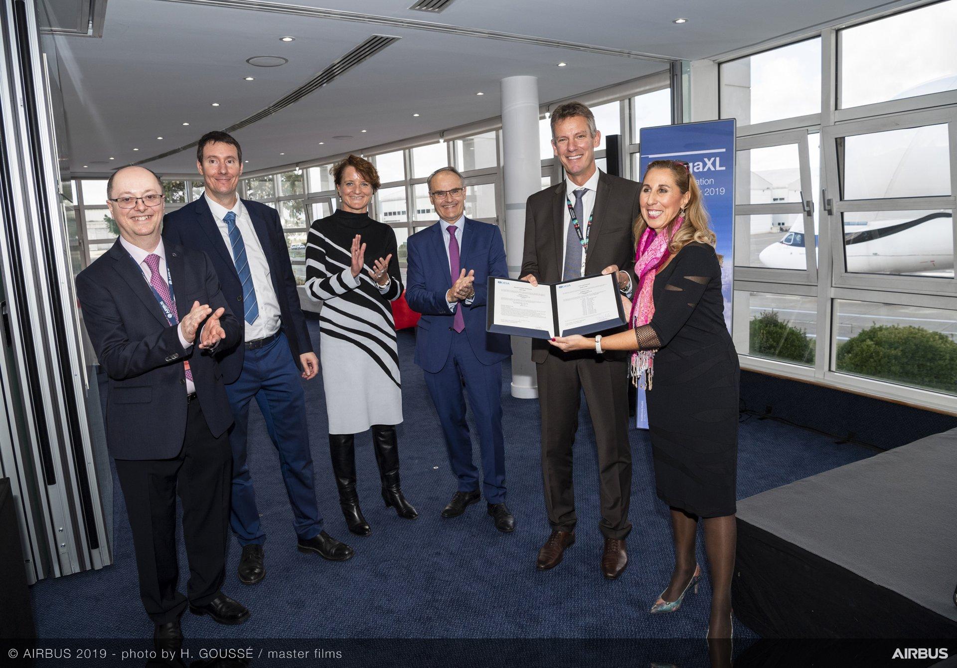 طائرة BelugaXL تحصل على شهادة الجودة من الوكالة الأوروبية لسلامة الطيران