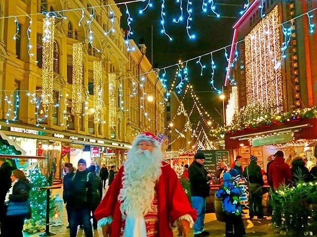 هلسنكي وبودابست وبوخارست أهم المقاصد في عيد الميلاد