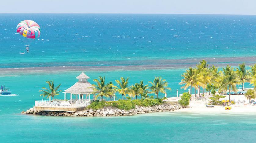 3.1 مليار دولار أمريكي مكاسب جامايكا من وصول 3.4 مليون سائح
