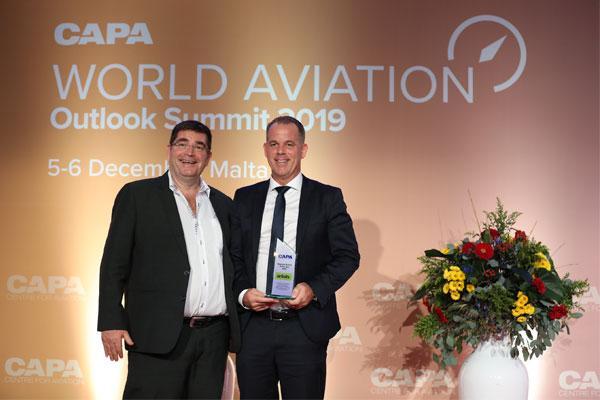 طيران البلطيق تحصل على جائزة شركة الطيران الإقليمية للعام من قبل CAPA