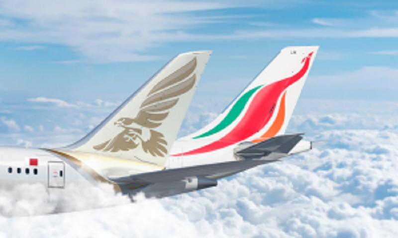 طيران الخليج والخطوط الجوية السريلانكية في شراكة الرمز
