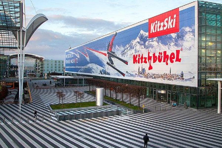 كيتزبوهيل يوجد في مطار ميونيخ بإعلانات لافتة للنظر