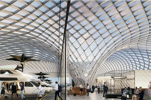 مطارات المستقبل 10 تنبؤات للعقد القادم