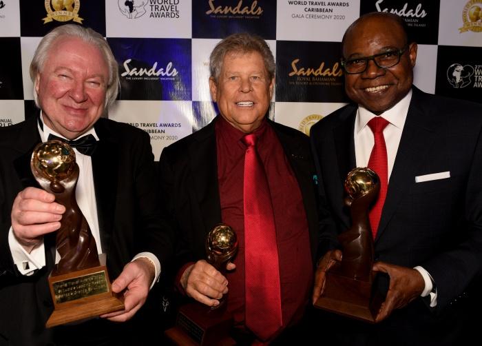 جوائز السفر العالمية تكشف عن الفائزين الكاريبيين في ساندلز رويال باهاميان