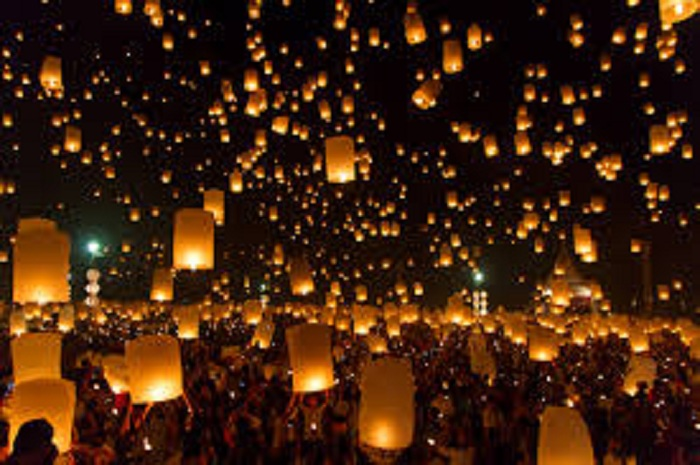 مهرجان الفوانيس الصيني التقليدي يجذب 6 ملايين زائر