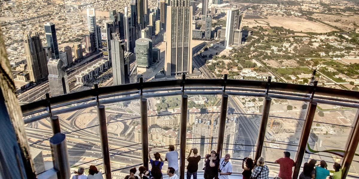 برج خليفة الطابق 148 سكاي