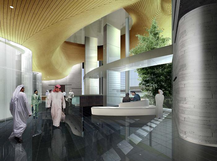 مكاتب برج خليفة