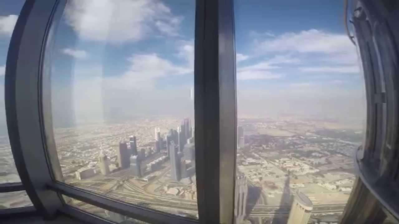 مصاعد برج خليفة