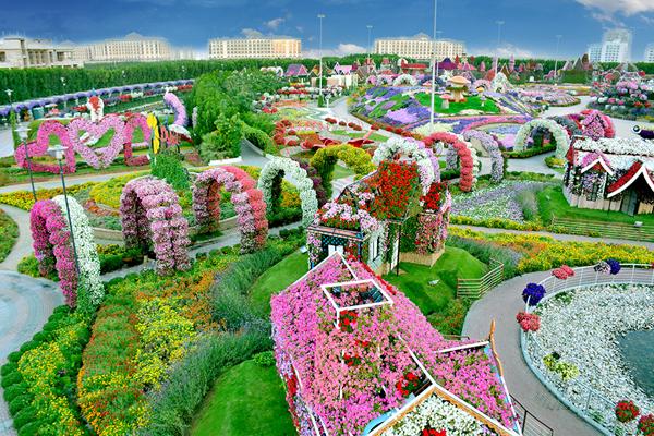 إغلاق حديقة دبي المعجزة و حديقة الفراشات في دبي مؤقتًا