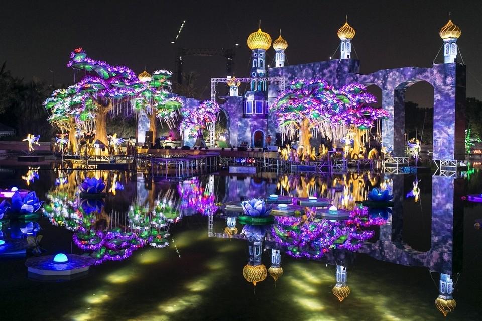 تذاكر دخول حديقة دبي المتوهجة