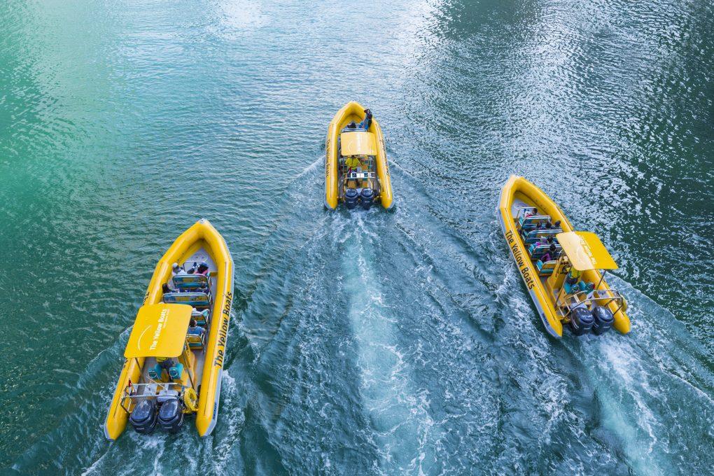 جولة جزيرة المايا لمدة 60 دقيقة بالمركب
