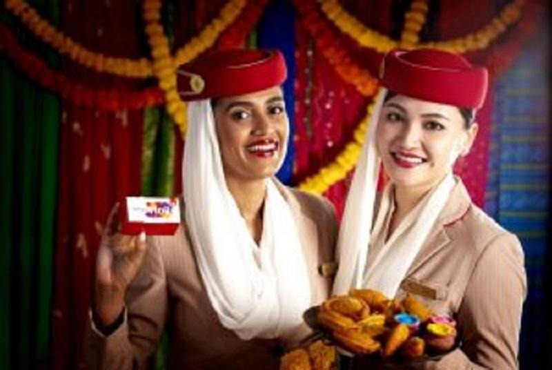 طيران الإمارات تحتضن الثقافات المتنوعة و تحتفل بمهرجان هولي هاي الهندي