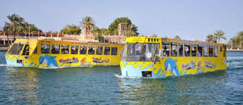 معالم دبي البحرية الباص العجيب