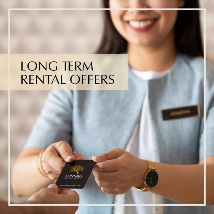 فنادق جنة تقدم خيارات إقامة طويلة المدى