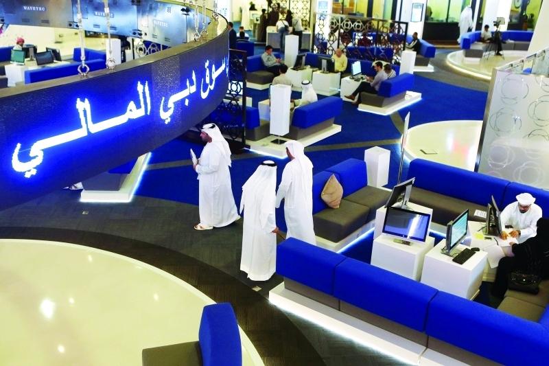 سوق دبى المالى يحقق امس 3 مليار درهم مكاسب خلال جلستين