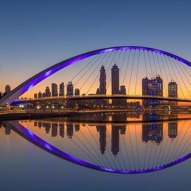 قناة دبي المائية احدث معالم الجذب السياحى فى المدينة